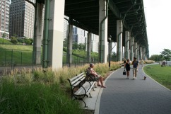 New York City, New York, Hudson River Greenway